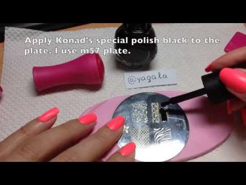 Stamping Nail Art Step By Step Tutorial