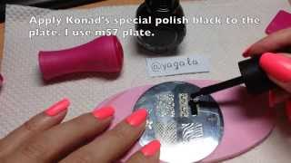 Stamping Nail Art, Step by Step tutorial