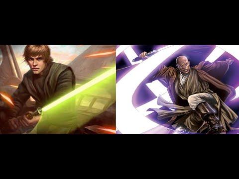 Versus Series Luke Skywalker VS Mace Windu