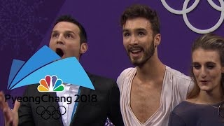 Best Kiss and Cry moments from PyeongChang