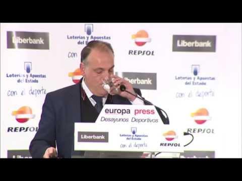 Desayunos Deportivos de Europa Press | Javier Tebas