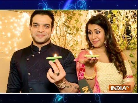 Karan Patel, Ankita Bhargava celebrate Diwali 2018