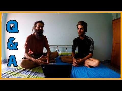 QUESTIONS AND ANSWERS: ABOUT OURSELVES, HEALTH, RAW FOOD, TRAVELLING AND MORE...