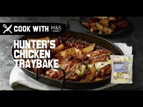 M&S   Cook With M&S... Hunter's chicken with herby potato wedges