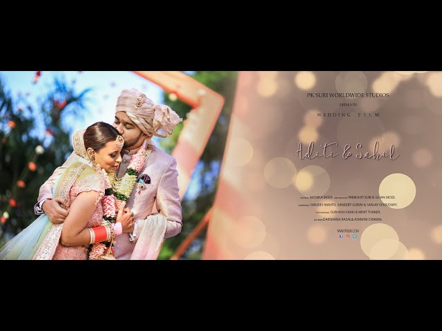 Indian Wedding Film Promo | Aditi and Sahil | PK Suri Worldwide Studios
