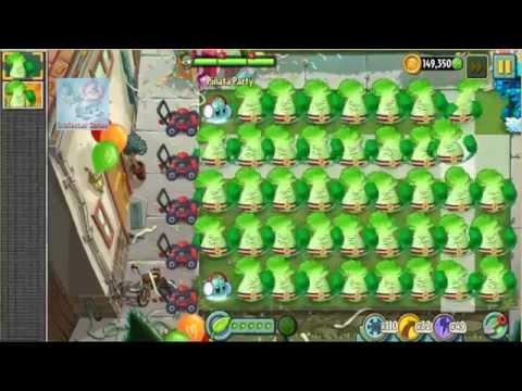 Pinata Birthdayz Party Day 19 Bonk Choy Iceberg Lettuce Plants vs Zombies 2