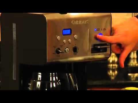 Coffee Plus 12 Cup Programmable Coffeemaker Plus Hot Water System Demo (CHW-12) - YouTube
