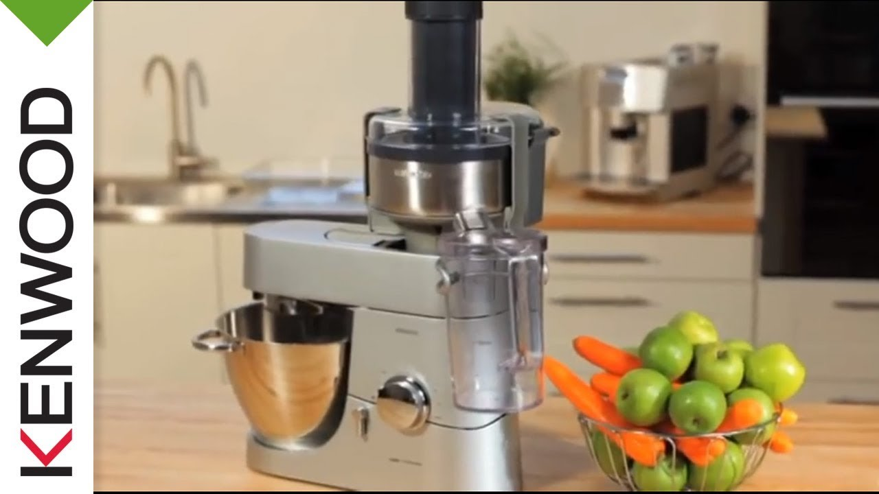 Kenwood metal juice extractor at641 kitchen machine attachment