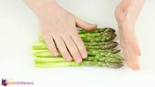 How to clean asparagus - cooking tutorial