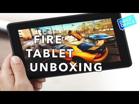 Amazon Fire HD 6 Unboxing & Kindle Fire - The Deal Guy