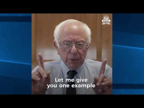 Bernie Sanders Reacts to Trump's New Tax Reform plans