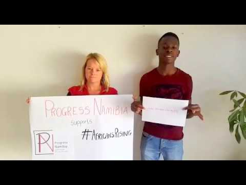 Progress Namibia supports Africans Rising
