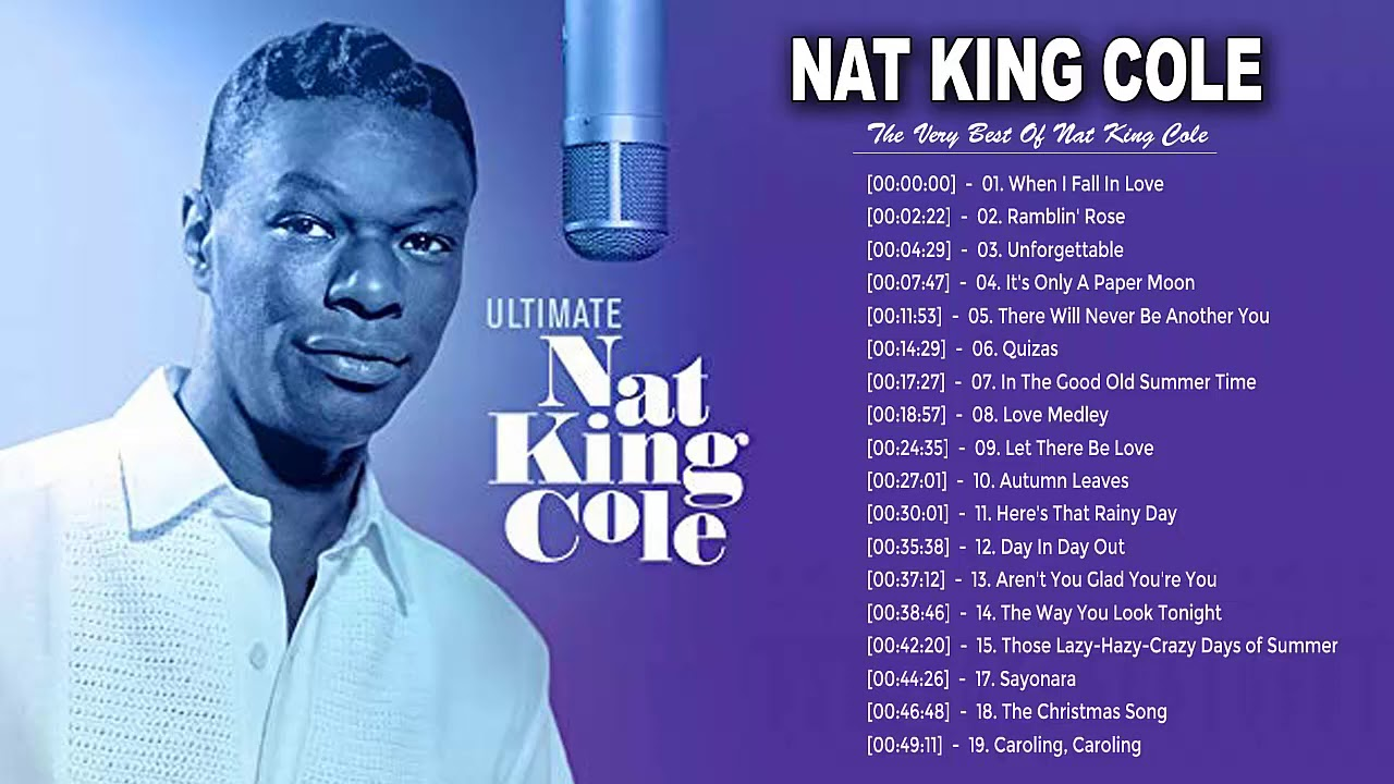 Nat King Cole Greatest Hits Playlist - Best Songs Of Nat King Cole - Nat King Cole Collection 2020