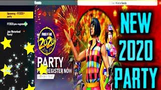 "2020 PARTY EVENT - FREE ELITE PASS?? NEW ""FATAL BLADE "" MODE - Garena Free Fire"