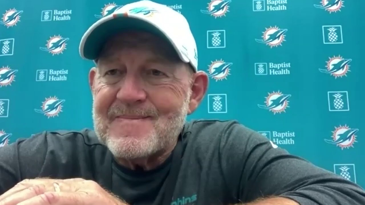 Miami Dolphins OC Chan Gailey Press Conference   September 21, 2020