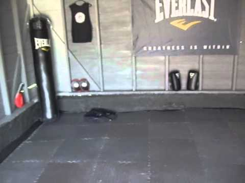 Garage To Mma Gym Transformation Youtube