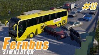 FERNBUS SIMULATOR #13 ★ BvB Mannschaftsbus auf Tour I Hamburg - Kiel [Deutsch/HD]