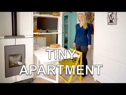 Studio Apartment Murphy Bed tiny studio apartment | with wall bed and green garden (250 sq.ft