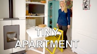 Tiny Studio Apartment | With Wall Bed and Green Garden (250 sq.ft.)