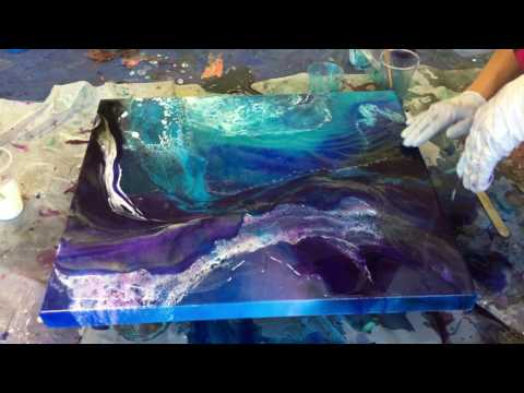 Resin painting - Abstract Painting