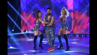 Lourdes Sánchez, Cande Ruggeri y Gabo Usandivaras se lucieron al ritmo de Rodrigo