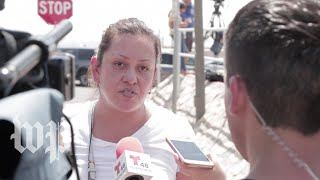 'I just took my kids and ran': Witnesses react to El Paso shooting