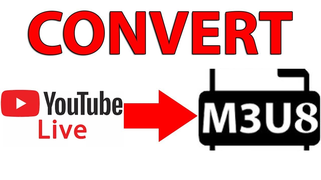 Live youtube sur vlc ( youtube live stream to m3u8)