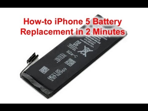 how to remove battery from iphone 5 iphone 5 battery replacement done in 2 minutes 20222
