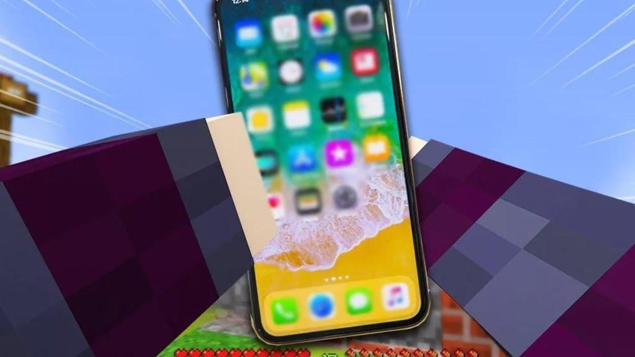 механизм телефон iphone работающий в майнкрафте #9