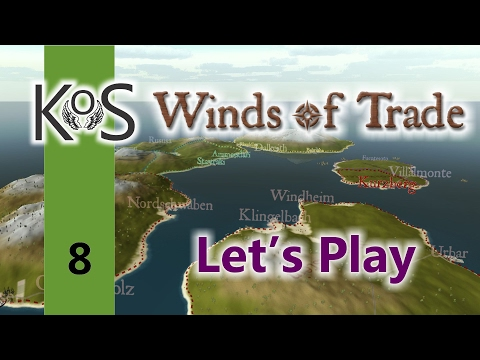 Winds Of Trade Ep 8: Creepy Messages & Free Cotton - First Look - Let's Play, Gameplay