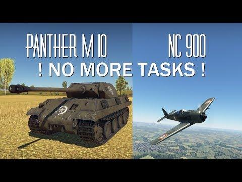 War Thunder - Free from Tasks
