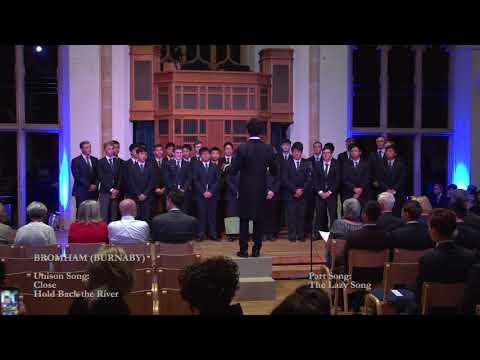 Bedford School - House Singing 2017