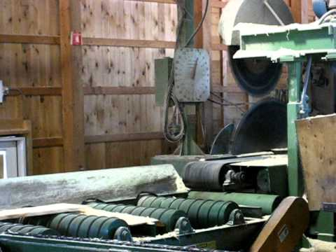Cowls Sawmill in action
