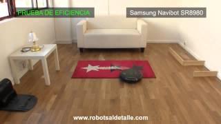 Тест робота-пылесоса Samsung Navibot SR8980 на качество уборки