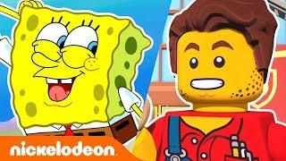 SpongeBob &amp LEGO City Adventures  Top 13 Similarities  Nick
