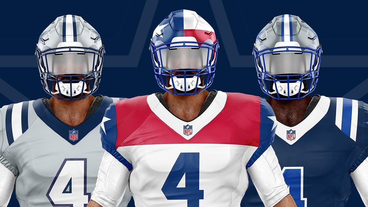 Dallas Cowboys NEW Uniform Concepts