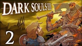 Dark Souls III | Let's Play Ep. 2: Pushing up Daisies | Super Beard Bros.