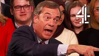 Nigel Farage Disagrees with New Brexit Survey Results | Brexit: What The Nation Really Thinks