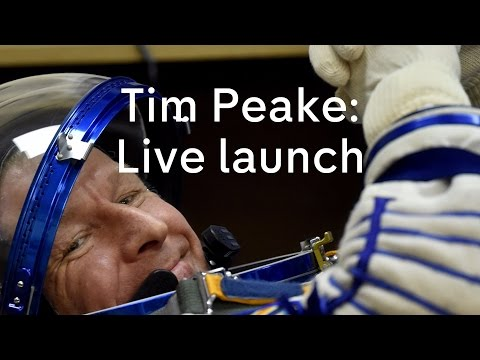 Tim Peake live launch: UK astronaut to join International Space Station