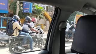 Taking Uber to work in Bangalore
