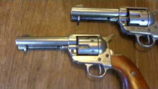 Denix 1873 Single Action Army Non Firing Replica Revolver -Peacemaker Six Shooter