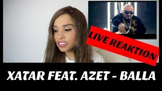 XATAR feat. AZET - BALLA (Official Video) live Reaktion