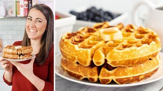 How to Make Perfect Homemade Waffles