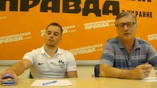 Олимпийский чемпион в Рио-2016 Олег Верняев и тренер Геннадий Сартинский-1