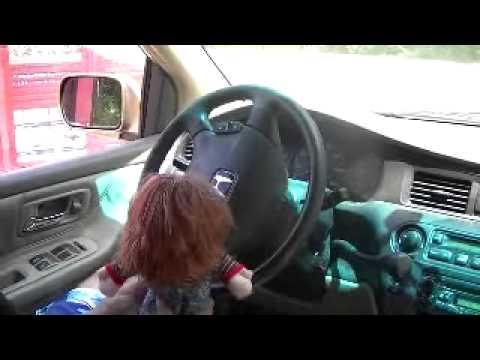 Childs Play Chucky funny drive-thru