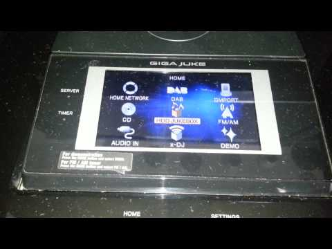Sony NAS-S55HDE HDD GIGA JUKE HiFi
