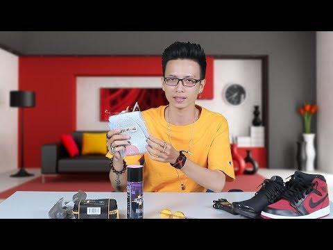 Chăm sóc giày : Crep Cure, Crep Protect, áo mưa giày, shoe tree, sneaker ball