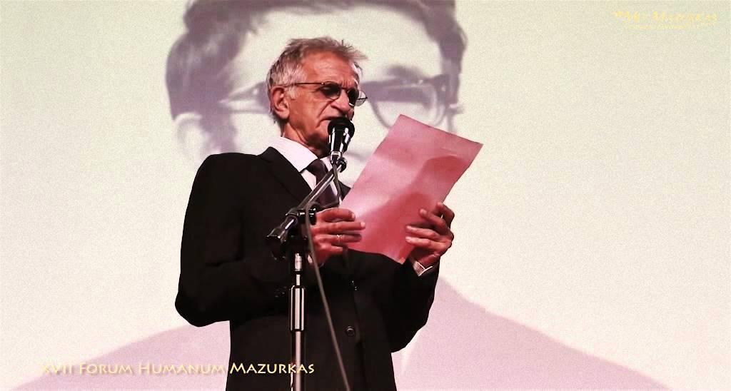 XVII Forum Humanum Mazurkas - Jacek Fedorowicz -Wiersz dla Marka Majewskiego