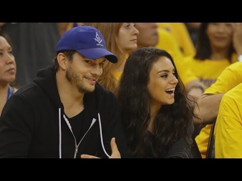 Ashton Kutcher Maybe Reveals the Sex of Baby No. 2 With Mila Kunis!