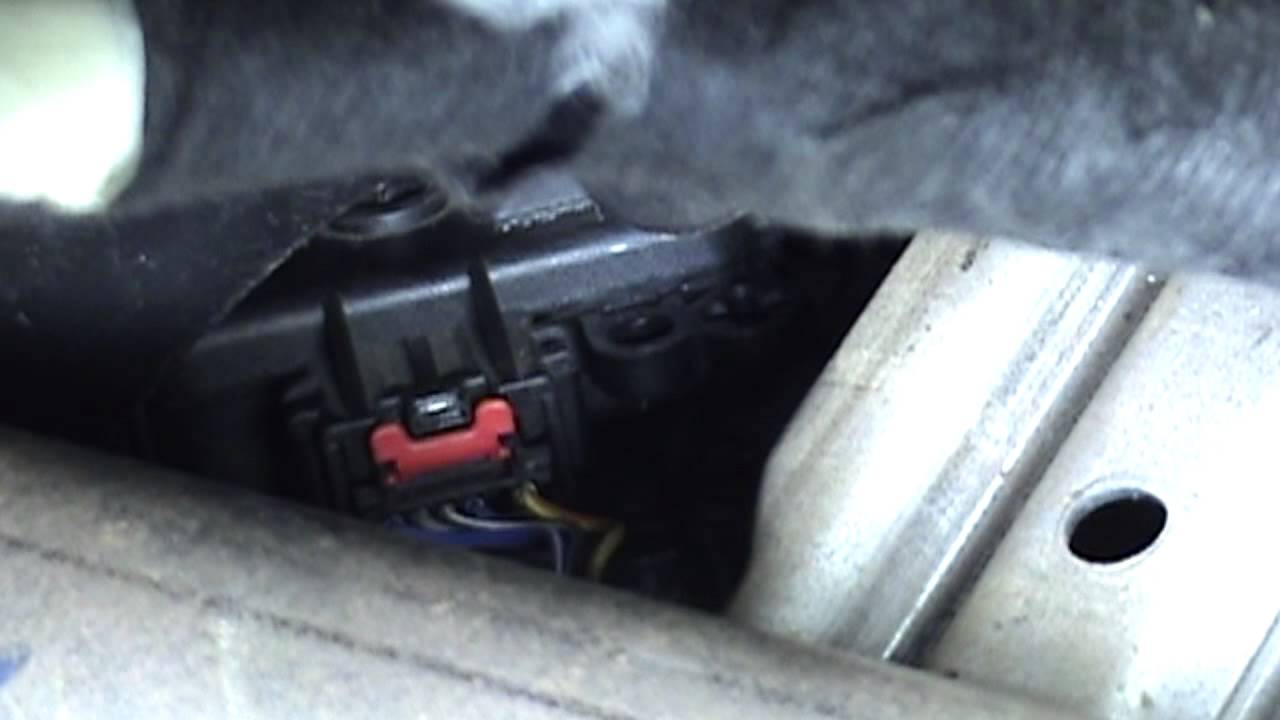 2008 Ford Escape Blend Door Actuator Replacement Youtube